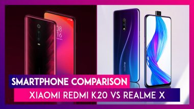 Xiaomi Redmi K20 vs Realme X: Specification, India Prices & Features - Comparison